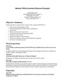 Marketing Assistant Resume No Experience by Sle Resumes With No Work Experience Behavioral Health