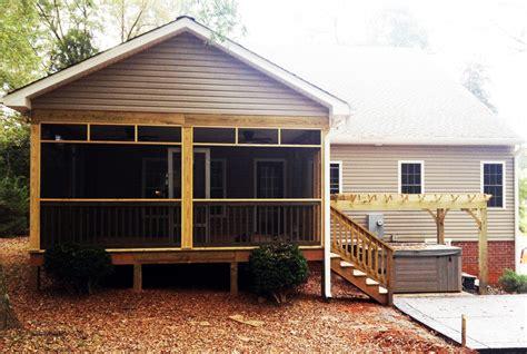 decks porches patios walkways more occ
