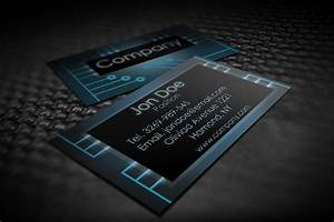 Modern electronic business card templates by borcemarkoski for Electronic business card templates