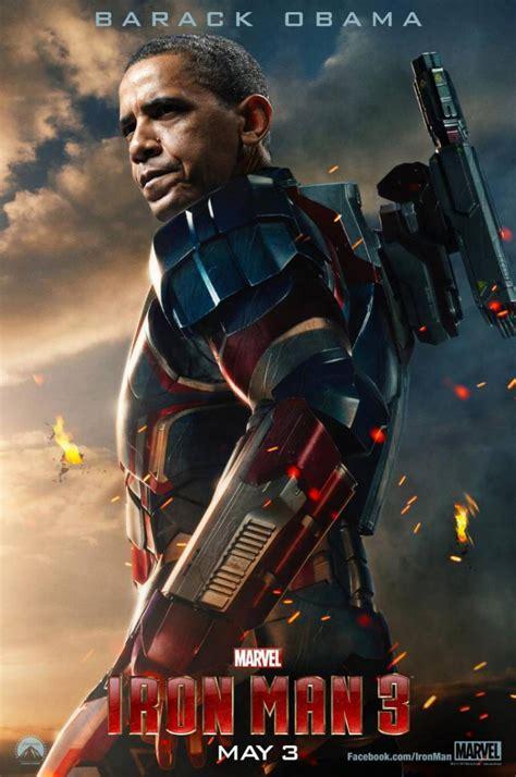 iron man  posters don cheadle  iron patriot barack