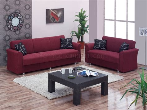 burgundy sofa and loveseat ohio sofa bed in burgundy fabric by empire w optional loveseat