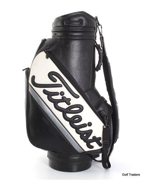 titleist golf staff bag blackwhite