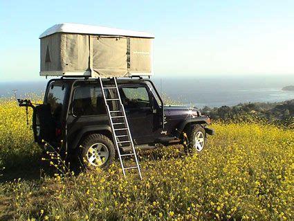 jeep tent 2 door pop top jeep craft elegance cuteness and loves