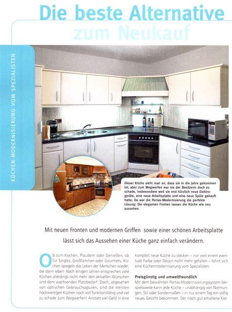 Kueche Verschoenern Guenstige Alternative Zum Neukauf by Wohnzeitschriften Berichten 252 Ber Die Portas L 246 Sungen