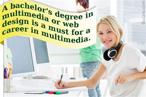 Multimedia Design Careers by Careers In The Creative And In Demand Field Of Multimedia