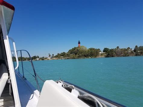 Boat Tour Jupiter Island by Looking From The Boat Toward The Lighthouse Picture Of