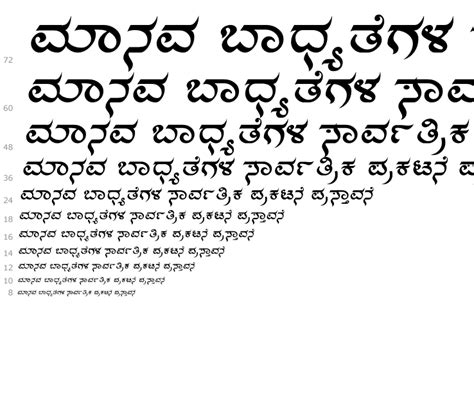 shree kannada  family fontscom