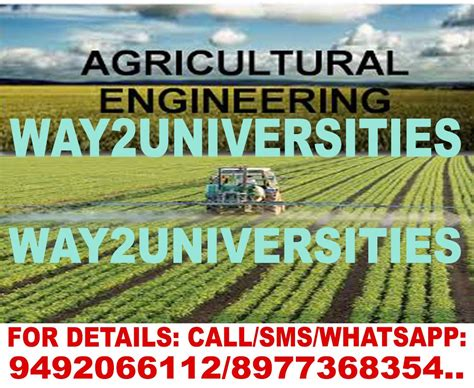 agricultural engineering incorporates  science