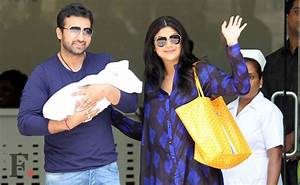 Images: Shilpa Shetty's baby boy goes home in a Bentley ...