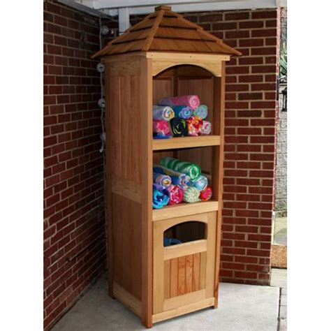outdoor pool towel storage cabinet backyard pool towel storgae with a little planning you
