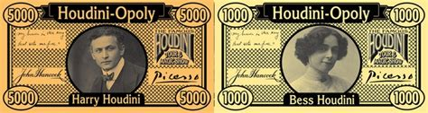 houdiniopoly exciting magician legend board by houdini museum kickstarter