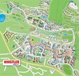Whistler Village, Creekside, Activities and Directions Maps