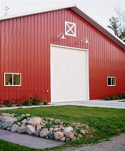 laramie barn lights add traditional touch to metal barn With exterior lighting on pole barn