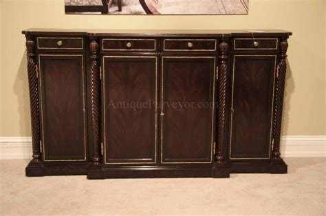 and brass dining room sideboard narrow buffet cabinet