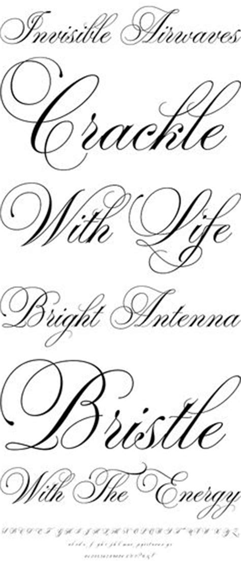 Beautiful Scripts And Fonts by Beautiful Scripts On Script Fonts Scripts And