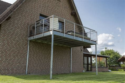 Balkon Anbauen Baugenehmigung by Nachtr 228 Glicher Anbau Balkon Konstruktionen Metallbau