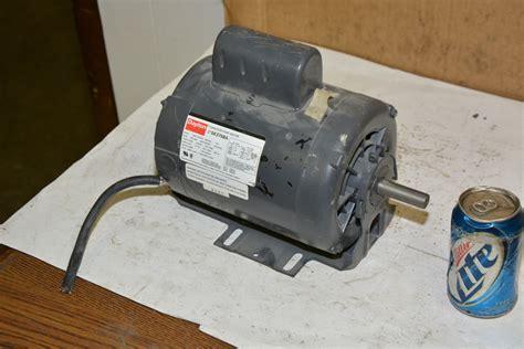 dayton 6k376ba capacitor start electric motor 3 4 hp 1 ph