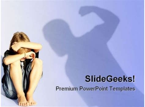 child abuse people powerpoint backgrounds  templates
