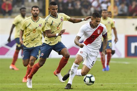 Para ver el perú vs. Perú vs. Colombia: conoce qué equipo es el favorito en las ...