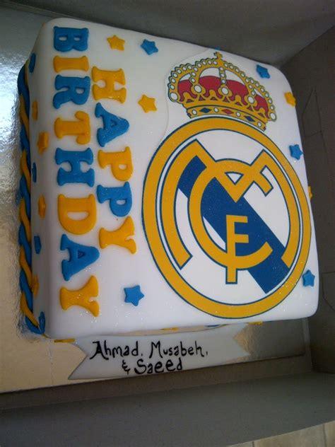 Real madrid cake - Imagui