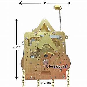 261 Series Hermle Clock Movements   Clockworks