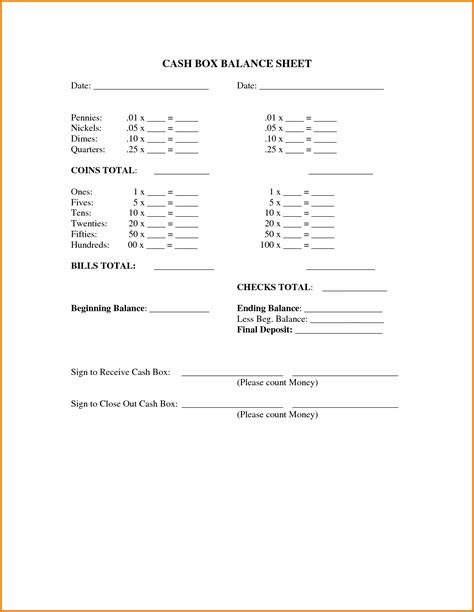 balance sheet template google docs authorization letter