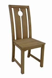 Chaise Bois Pas Cher : chaise bois haut dossier 5542 ~ Teatrodelosmanantiales.com Idées de Décoration