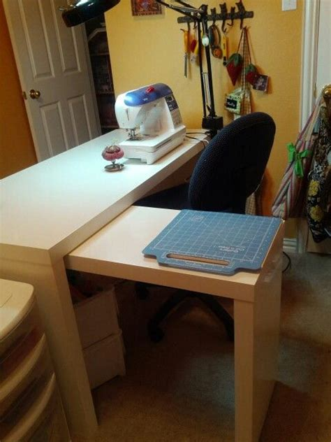 desk with slide out table ikea malm desk wuth slide out side table makes an awesome