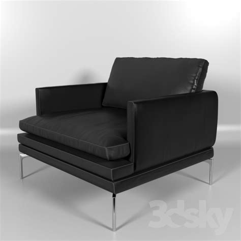 Buy Chair by 3d Models Arm Chair Zanotta William Armchair