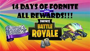 14 Days Of Fortnite All Rewards   How To Complete All