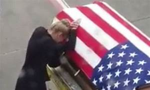 Army vet's widow says tear-jerking goodbye to her husband ...