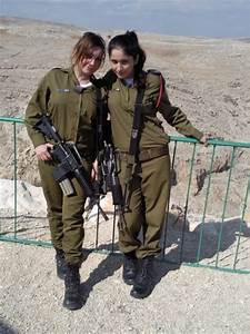 warhistory: Beautiful Female Soldiers of Israeli Defence ...
