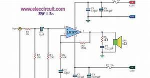 Hi Fi Audio Amplifier Circuit Lm1875