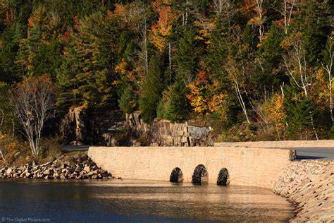 acadia national park stone bridge