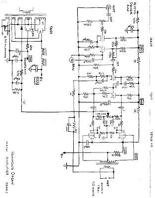 Hammond Organ Type Dbw Main Amplifier