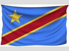 Democratic Republic of the Congo Wrinkled Flag Gallery