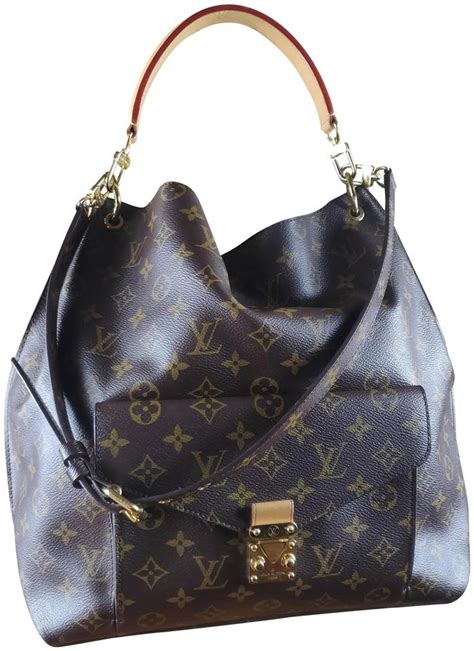 louis vuitton metis monogram canvas hobo bag tradesy