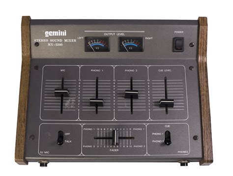 gemini mx  classic hip hop  battle dj mixer