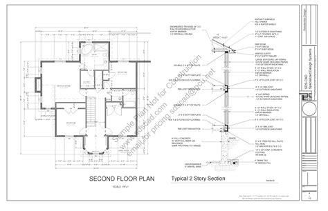 home construction plans h212 country 2 porch house plan blueprints