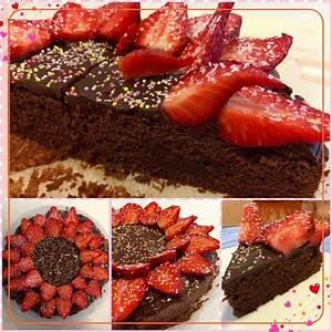 Décoration De Gateau : g teau au chocolat d co de fraises recette de g teau au chocolat d co de fraises par ~ Melissatoandfro.com Idées de Décoration