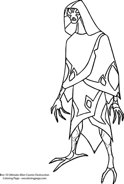 Big Chill Ben 10 Omniverse Coloring Pages Coloring Pages