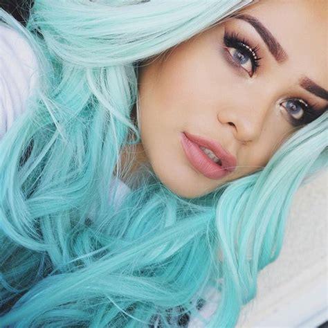 Best 25 Aqua Hair Color Ideas On Pinterest Turquoise