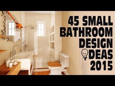 Ideas For Kitchen Remodel - 45 small bathroom design ideas 2015 youtube