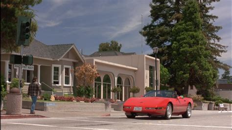 ed o neill cars chevrolet corvette c4 red convertible car driven by ed o