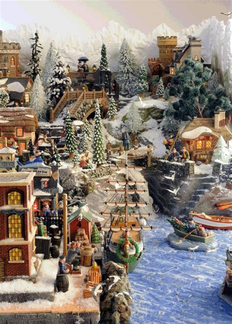 1000 images about ceramic christmas villages on pinterest