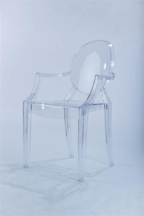 marianne s rentals acrylic ghost chair with arms clear