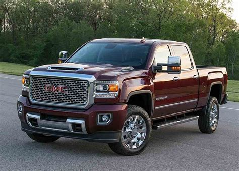 2018 Gmc Sierra 2500hd Interior And Specs  2018 2019