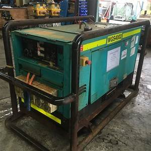 Denyo Dcw 400es 15kva Generator  Welder