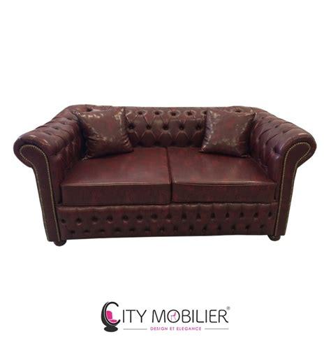 mobilier de canape canapé lounge capitonné seattle city mobilier