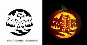 10, Free, And, Fabulous, Halloween, Pumpkin, Stencils